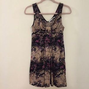 KIMCHI BLUE floral sleeveless mini dress